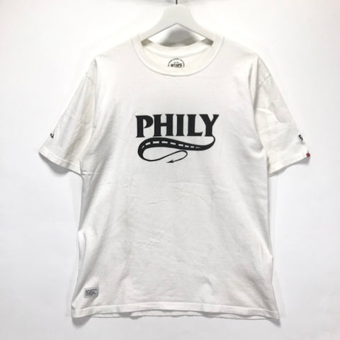 [L] WTaps Philosophy Way of Life Tee White