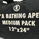 [M] A Bathing Ape Bape Duffle Bag Black