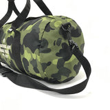 [S] A Bathing Ape Bape Camo Mini Duffle Bag Green