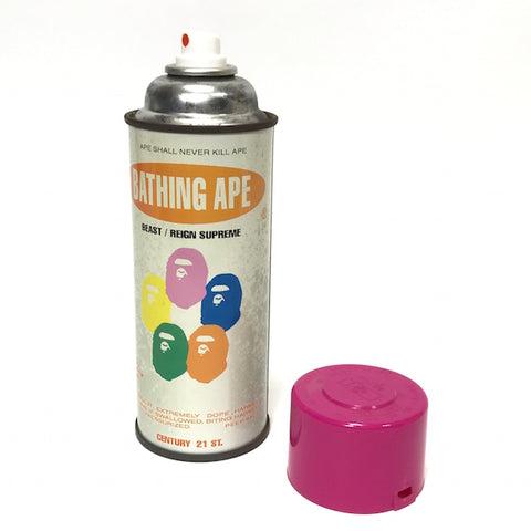 A Bathing Ape Bape x Stash Vintage 'Krylon' Spray Can (Pink Cap)