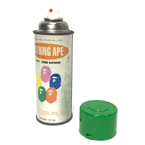 A Bathing Ape Bape x Stash Vintage 'Krylon' Spray Can (Green Cap)