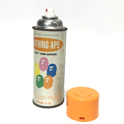 A Bathing Ape Bape x Stash Vintage 'Krylon' Spray Can (Orange Cap)