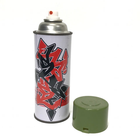 A Bathing Ape Bape x Stash Vintage Graffiti Tag Spray Can (Olive Cap)