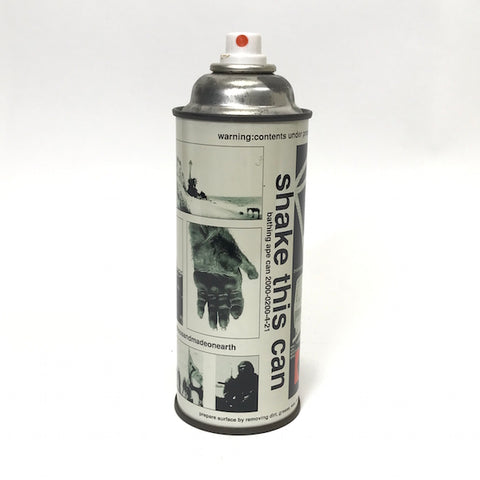 A Bathing Ape Bape x Futura Vintage Collage Spray Can (No Cap)