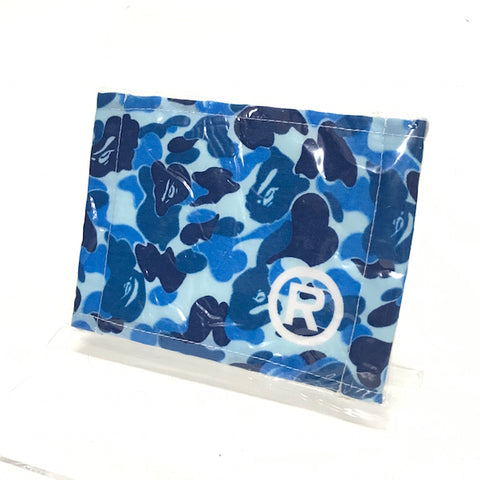 DS! A Bathing Ape Bape Vintage Face Mask ABC Camo Blue
