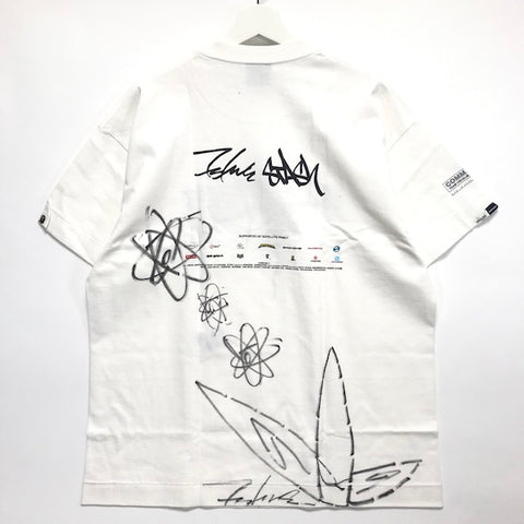 [XL] A Bathing Ape Bape x Futura / Stash Vintage Command Z Tee (Hand Signed)