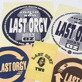 A Bathing Ape Bape Vintage 90's Last Orgy 2 Sticker Set (5)