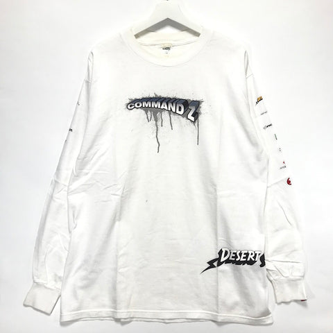 [XL] A Bathing Ape Bape Futura Stash Command Z L/S Tee