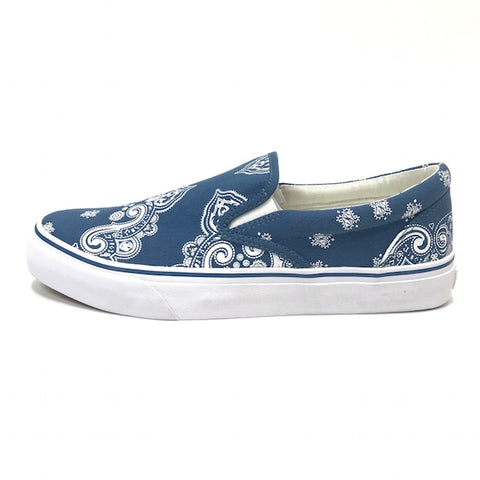 [9] DS! Number Nine Bandana Slip On Shoes