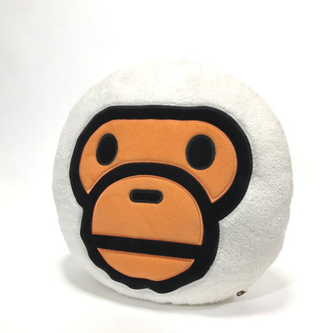 A Bathing Ape Bape Baby Milo Plush Cushion White