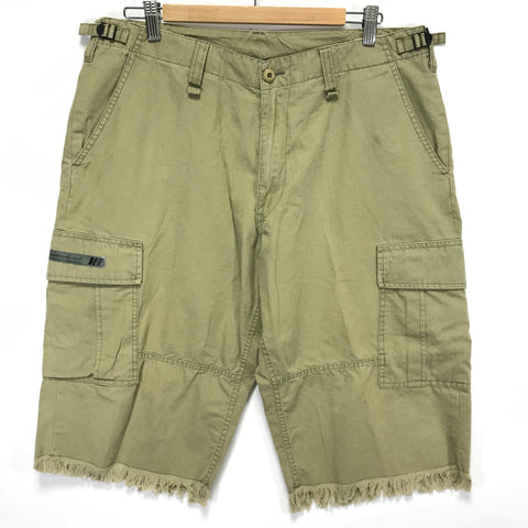 [L] WTaps Jungle Chopped Ripstop Cotton Shorts Beige