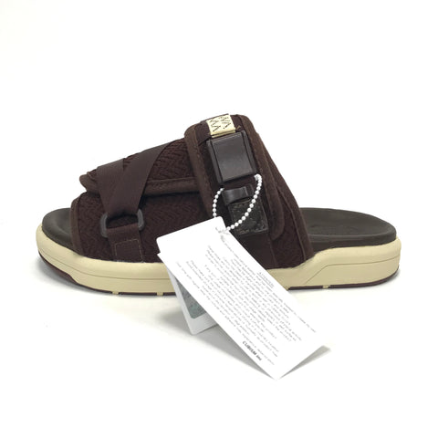 [S] DS! Visvim Christo Sandals Dark Brown