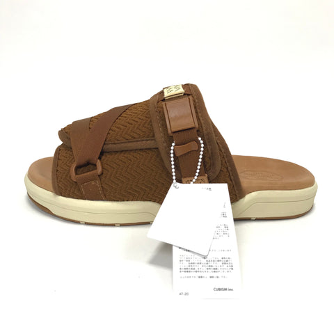 [L] DS! Visvim Christo Sandals Light Brown