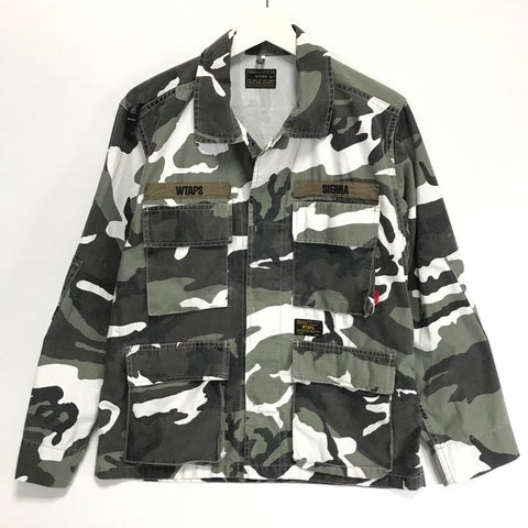 [S/M] WTaps EX32 Camo Jungle LS 02 Shirt