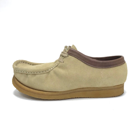 [8] DS! WTaps Edge Wallabee Shoes Suede Beige