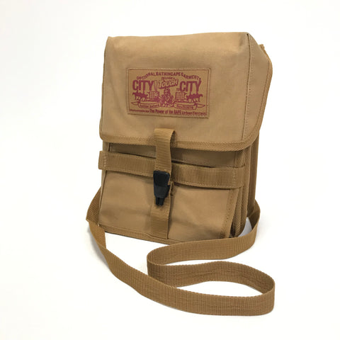 A Bathing Ape Bape Vintage Canvas Shoulder Bag