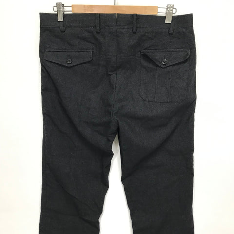 [L] Visvim Slacks Charcoal