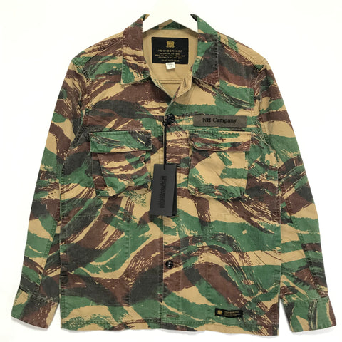 [M] DS! NEIGHBORHOOD BDU LIZARD TROPICAL CAMO BDU SHIRT