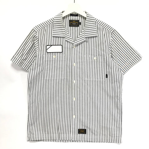 [L] WTAPS SODA STRIPED S/S SHIRT