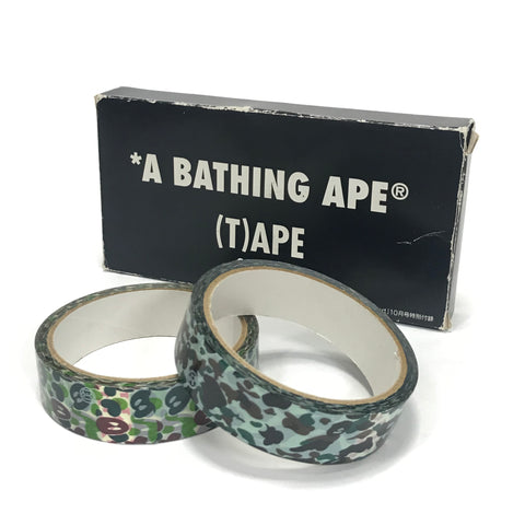 DS! A Bathing Ape Bape 1st Camo and Milo Camo Tape Set