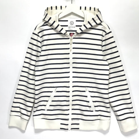 [M] Visvim Gore Windstopper Striped Hoodie