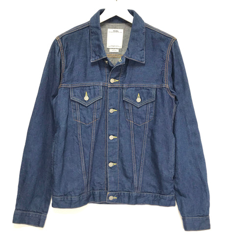 [M] Visvim 14SS Social Sculpture 103 Denim Jacket Cotton / Linen Indigo