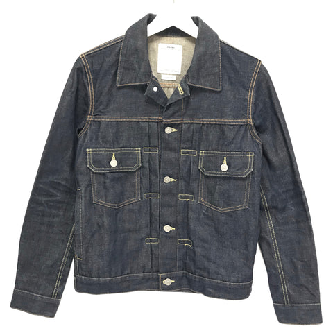 [S] Visvim 15SS Social Sculpture 101 Denim Jacket Unwashed Indigo