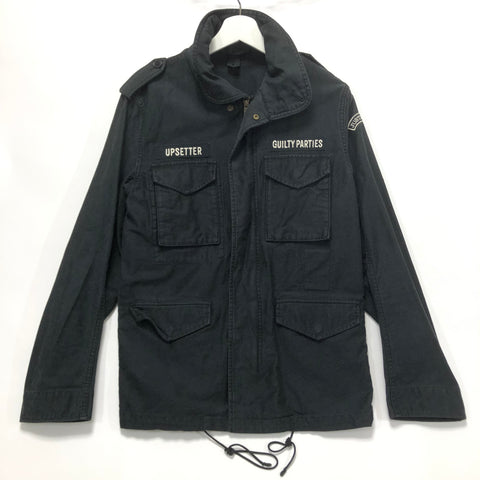 [M] Wacko Maria Freedom Renegades M-65 Jacket Navy