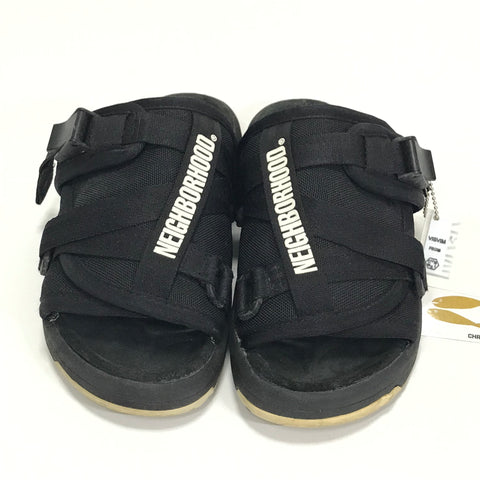 [M] Visvim x Neighborhood Christo Sandals Black