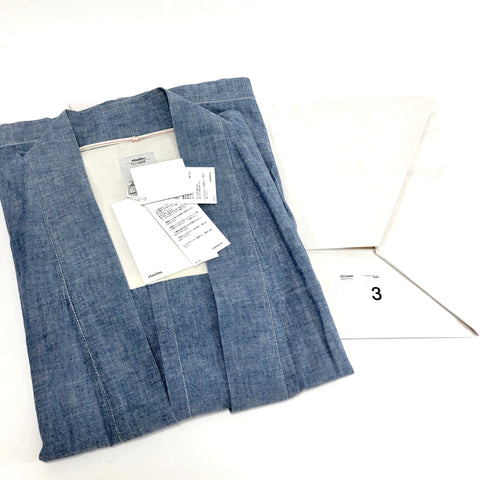 [L] DS! Visvim Noragi Chambray Shirt Blue