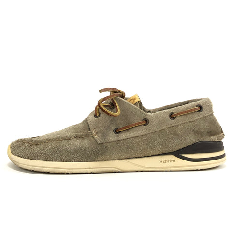 [10] Visvim Hockney Folk Suede Sand