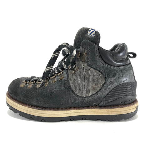[8] Visvim Serra Boots (Denim) Black