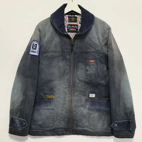 [L] WTaps x Rats Red Dawn Dept Cotton Canvas Work Jacket