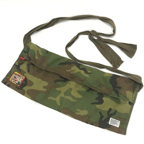 WTaps LAMF Bandleer Camo Shoulder Bag