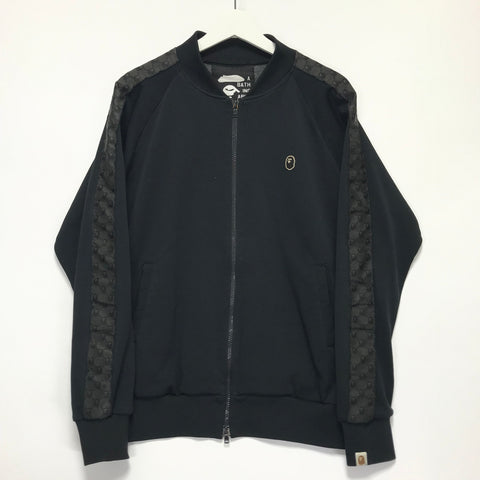 [M] A Bathing Ape Bape Vintage 'Gucci' Monogram Track Jacket Black