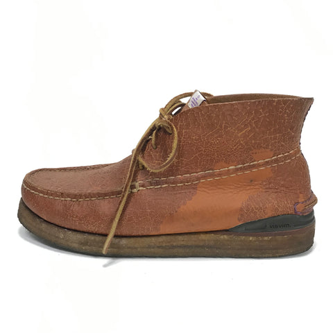 [11] Visvim Canoe Moc Folk Brown