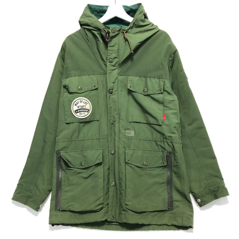 [L] WTaps Way Of Life 11AW Parasmock Jacket Green