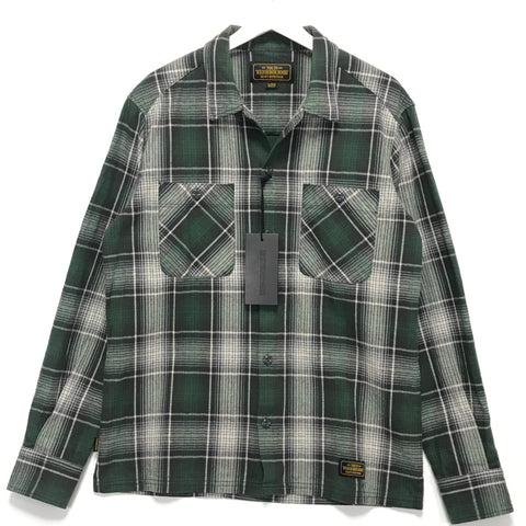 [L] Neighborhood Logger Flannel Shirt Green