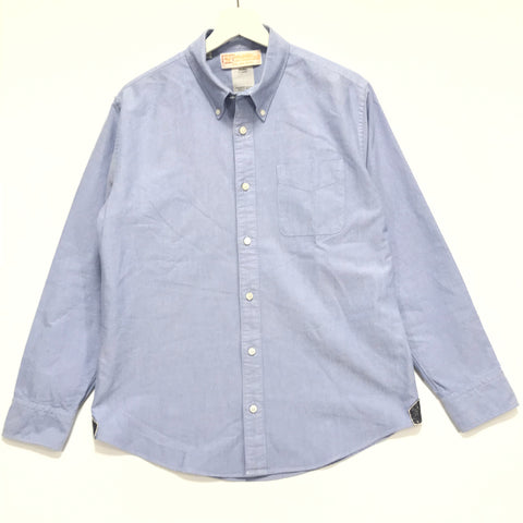 [L] Visvim 11SS Beuys B.D. Shirt L/S Sea Island Blue