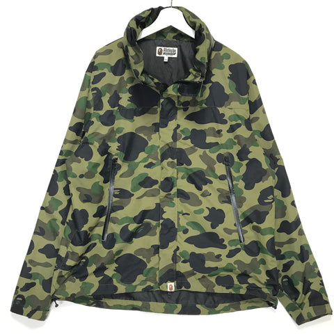 [2XL] A Bathing Ape Bape 1st Camo Nylon Zip Up Jacket