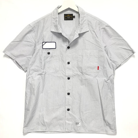[XL] WTaps SS09 Vatos Striped S/S Shirt