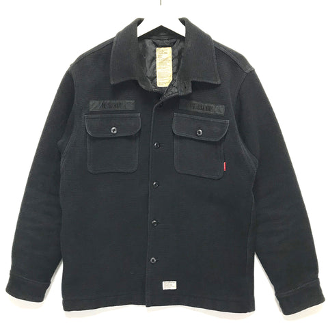 [L] WTaps AW06 Destroy Tradition BUDS L/S Shirt Jacket Black