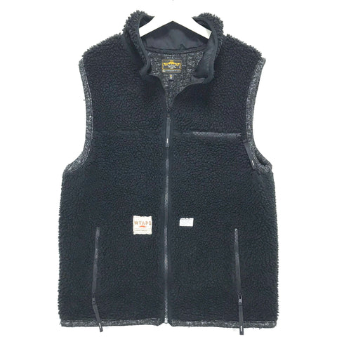 [XL] WTaps SS09 Polar Boa Fleece Vest Black