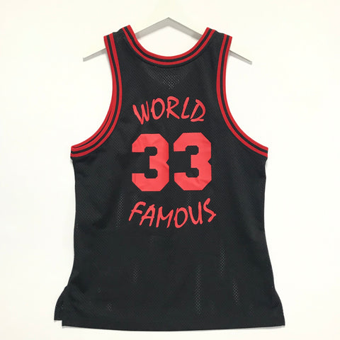 [L] Supreme World Famous 33 Mesh Basketball Jersey