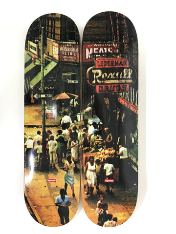 Supreme Street Scene 2 Deck Skateboard Set