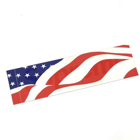 Supreme Vintage USA American Flag Home of the Brave Box Logo Sticker