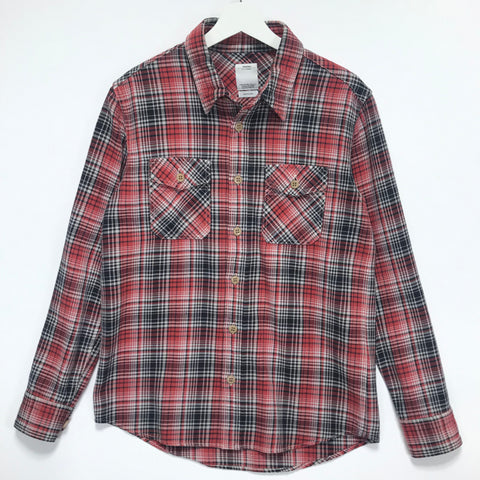 [M] Visvim 16SS Black Elk Flannel Check Shirt Red