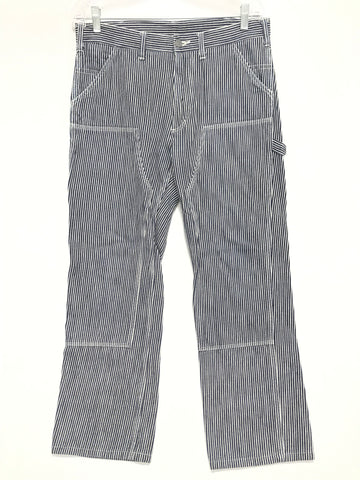 [L] Visvim Engineer Pants Hickory Stripe