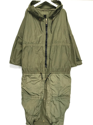 [M] Kapital Nylon Military Extendable Jacket Olive