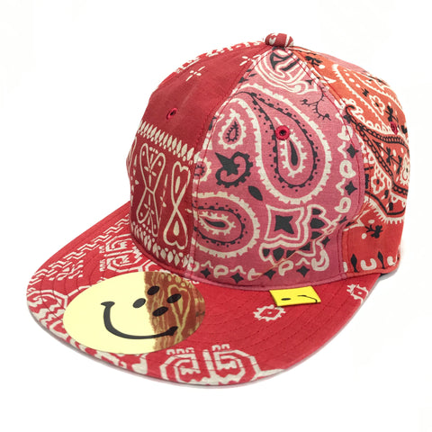 DS! Kapital Vintage Bandana Patchwork Cap Red